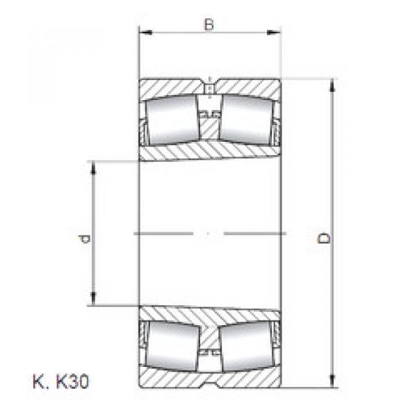 Bearing 24080 K30W33 ISO #1 image