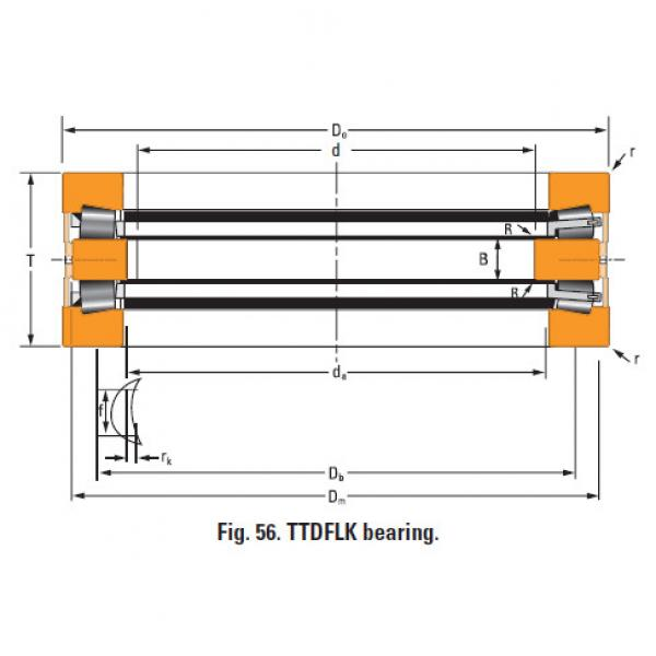 Bearing Thrust race single T1080fa #1 image