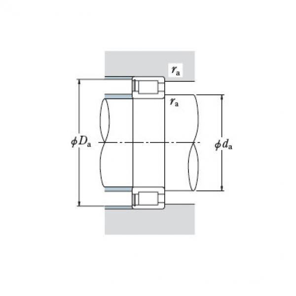 Full NSK cylindrical roller bearing NCF2992V #1 image