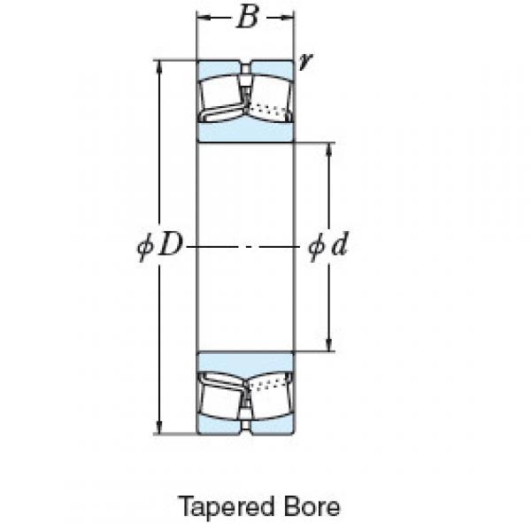 Bearing NSK SPHERICAL ROLLER 23138CKE4     #1 image