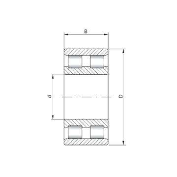 NN3084 CX Cylindrical Roller Bearings #1 image