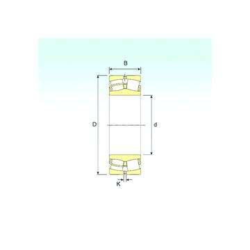 22319 ISB Spherical Roller Bearings #1 image