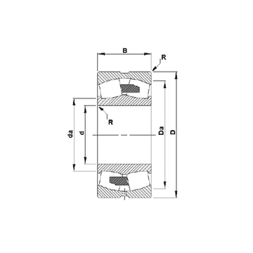 23234YM Timken Spherical Roller Bearings #1 image