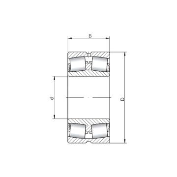 232/560W33 ISO Spherical Roller Bearings #1 image