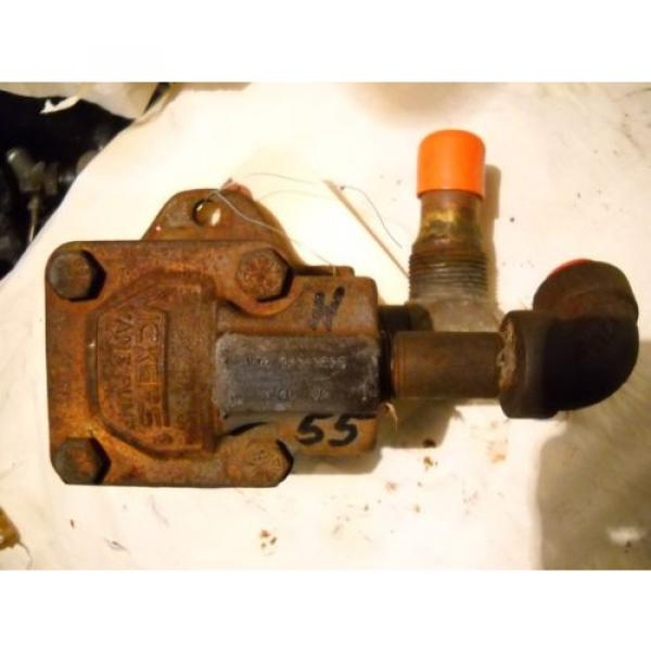 VICKERS Luxembourg  V10 VANE HYDRAULIC PUMP V10 1P 3P3C20 J40 JM #1 image