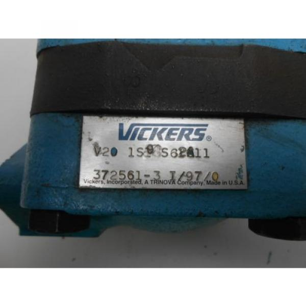 Vickers Honduras  Pump Model: V20 1S13S62A11 #2 image