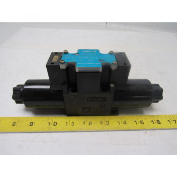 Nachi Guatemala  SL-G01-C5-R-D2-31 Hydraulic Solenoid Directional Control Valve Wet Type #1 image
