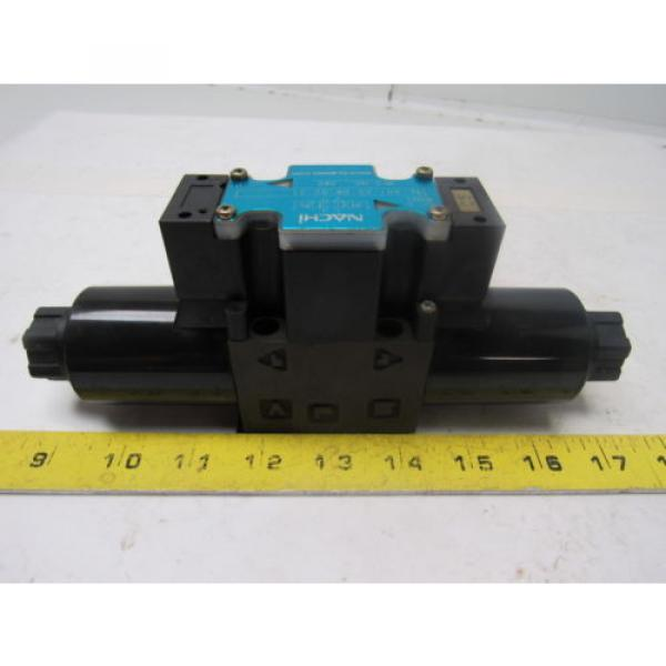 Nachi Guatemala  SL-G01-C5-R-D2-31 Hydraulic Solenoid Directional Control Valve Wet Type #3 image