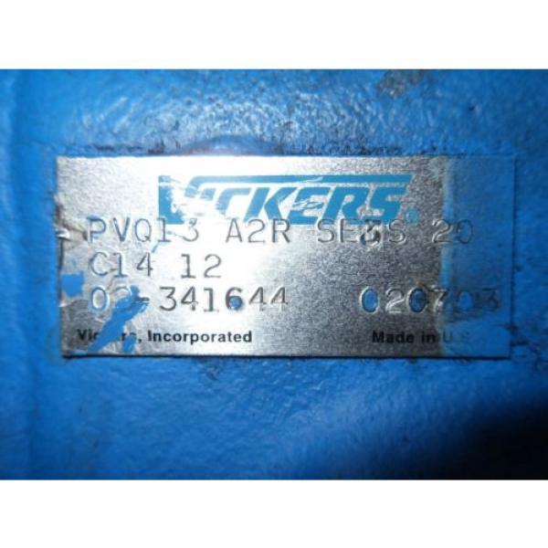 1 Bulgaria origin Vickers 02341644 Pvq13-A2R-Se3S-20-C14-12 Piston Pump X9-2 #2 image