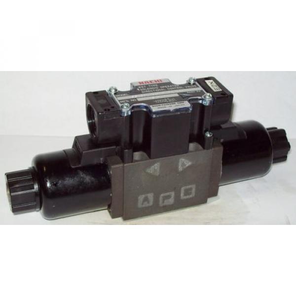 D03 Liberia 4 Way 4/2 Hydraulic Solenoid Valve i/w Vickers DG4V-3-?N-WL-H 24 VDC #1 image