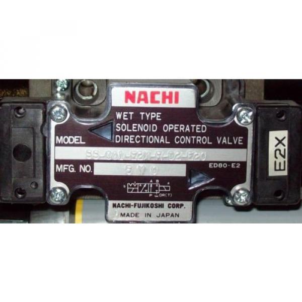 D03 Liberia 4 Way 4/2 Hydraulic Solenoid Valve i/w Vickers DG4V-3-?N-WL-H 24 VDC #2 image