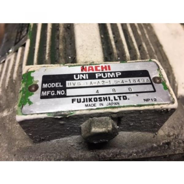 Nachi PuertoRico 2 HP 15kW Complete Hyd Unit, VDR-1B-1A2-21, UVD-1A-A2-15-4-1849A Used #4 image