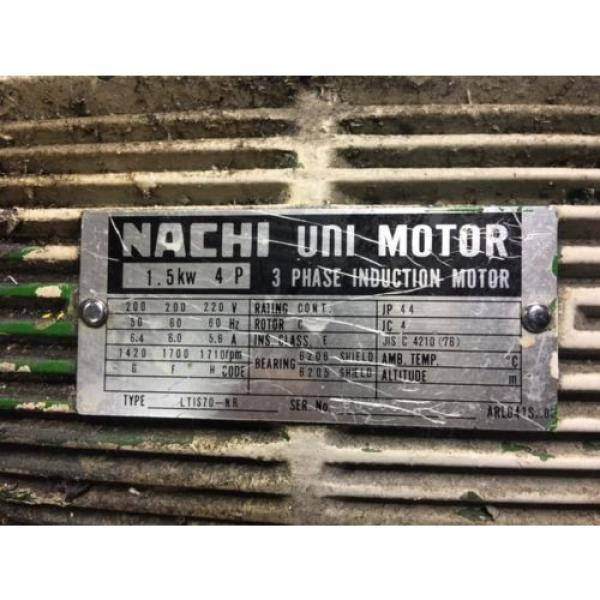 Nachi PuertoRico 2 HP 15kW Complete Hyd Unit, VDR-1B-1A2-21, UVD-1A-A2-15-4-1849A Used #5 image