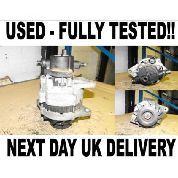 Nissan Terrano MK 2 2.7 TD 4WD Alternator 1993 - 2002 Fully Working with pump Original import #1 image